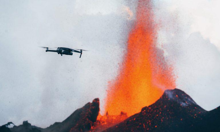 ET DRONE - Volcan