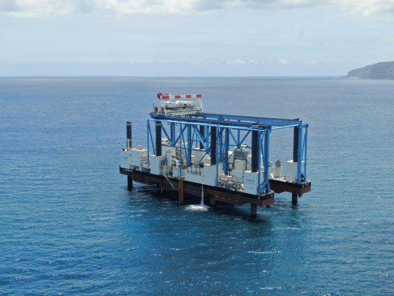 ET DRONE - Barges Chantier NRL