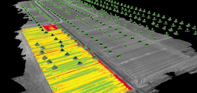 ET DRONE - image multispectrale