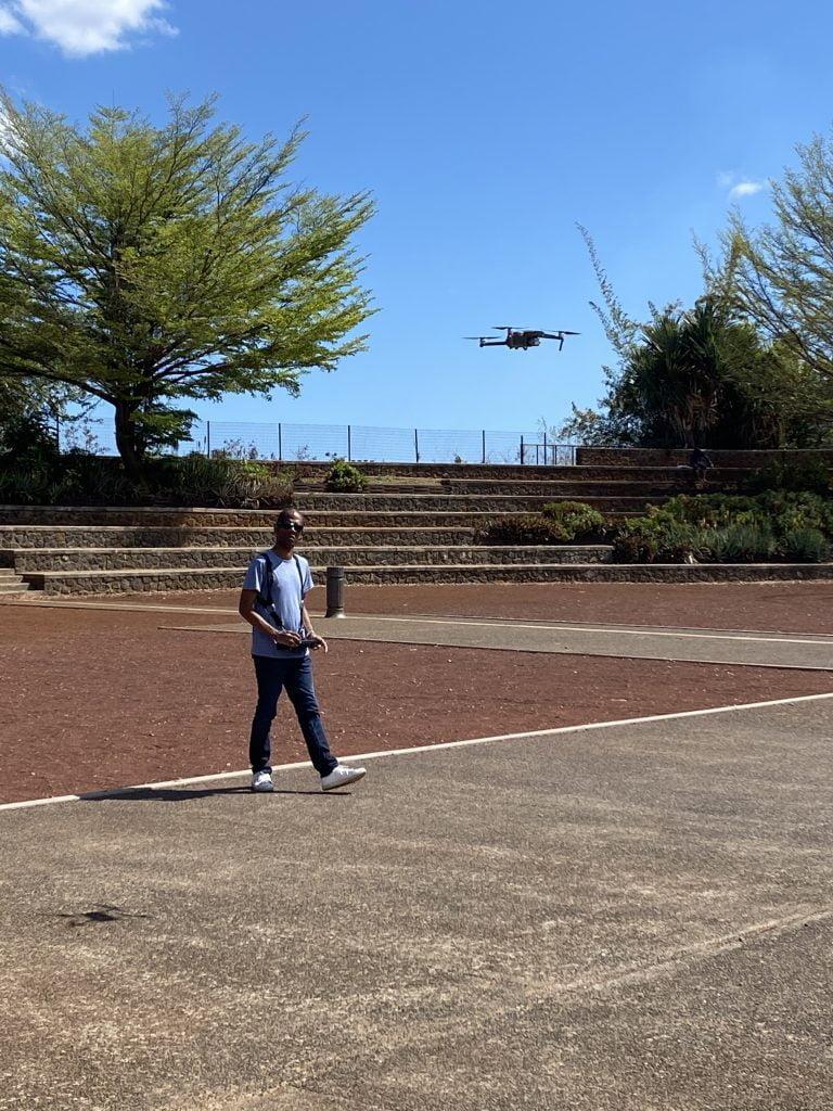 ET DRONE - cours en extérieur