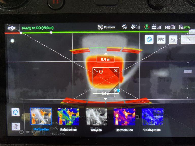 ET DRONE - image thermique