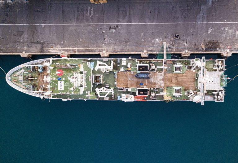 ET DRONE - bateau le Port