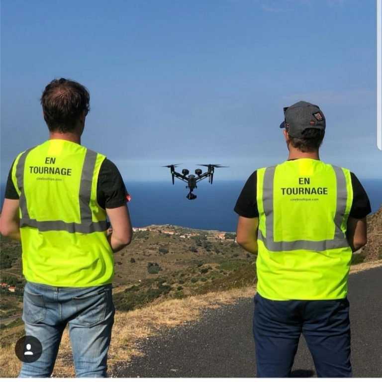 ET DRONE - tournage